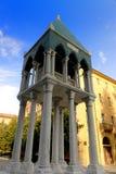 Tomba di Ronaldino de Passeri, Bologna, Italia immagini stock libere da diritti