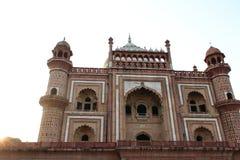 Tomba di Safdarjung a Nuova Delhi immagini stock libere da diritti
