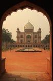 Tomba di Safdarjung, Nuova Delhi, India immagine stock