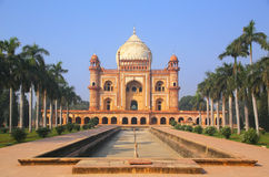 Tomba di Safdarjung a Nuova Delhi, India fotografia stock libera da diritti