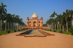 Tomba di Safdarjung a Nuova Delhi, India immagini stock