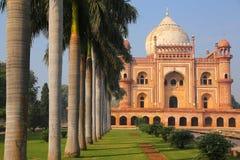 Tomba di Safdarjung a Nuova Delhi, India fotografie stock libere da diritti