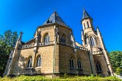 Tomba di Schwarzenberg - Trebon, repubblica Ceca immagini stock