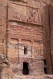 Tomba di seta, PETRA, Giordania Immagine Stock