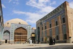 Tomba di Sheikh Safi al-Din, Ardabil, Iran del Nord immagine stock