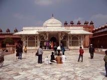 Tomba di Sheikh Salim Chishti, Fatehpur Sikri, Agra Fotografie Stock Libere da Diritti