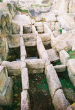 Tomba di Thracian fotografie stock
