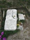 tomba di un sacerdote fotografie stock