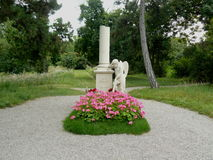 Tomba di Wolfgang Amadeus Mozart immagini stock