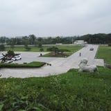 Tomba di Yangzhou Liuxu Fotografia Stock