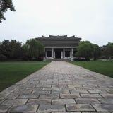 Tomba di Yangzhou Liuxu Immagine Stock