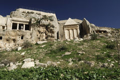 Tomba di Zechariah fotografia stock