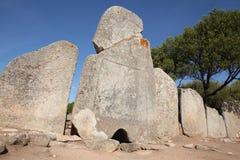 Tomba gigante antica, Sardegna fotografie stock
