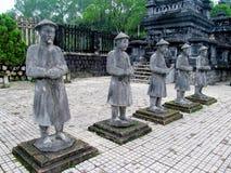 Tomba imperiale di Khai Dinh Immagini Stock