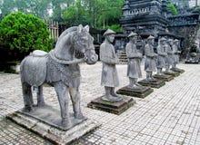 Tomba imperiale di Khai Dinh Fotografia Stock Libera da Diritti