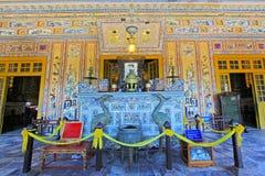 Tomba imperiale di Khai Dinh, sito del patrimonio mondiale dell'Unesco di Hue Vietnam immagini stock