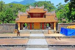 Tomba imperiale di Minh Mang, sito del patrimonio mondiale dell'Unesco di Hue Vietnam fotografie stock