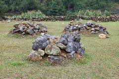 Tomba megalitica antica immagini stock libere da diritti
