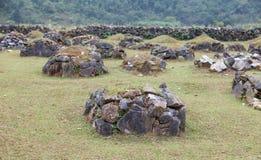 Tomba megalitica antica fotografie stock libere da diritti