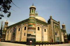 Tomba musulmana in Asia centrale fotografia stock
