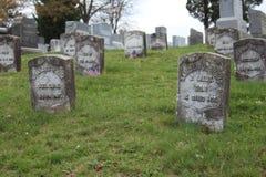 Tomba nel PA di Gettysburg Fotografie Stock