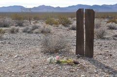 Tomba non specificata in riolite, Nevada Fotografie Stock Libere da Diritti