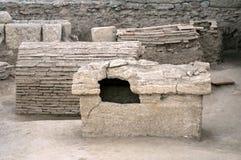 Tomba romana Immagini Stock