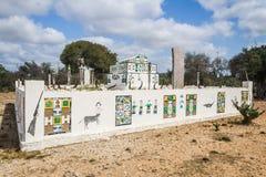 Tomba tradizionale di Antandroy fotografia stock