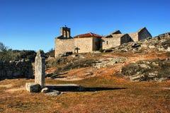Tomba in villaggio storico di Castelo Mendo Fotografia Stock Libera da Diritti