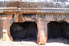 Tombe antique de roche Image stock