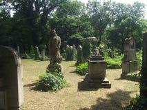 Tombe commémorative #01 de soldat de héros de vintage dans le cimetière de Budapest, Hongrie Images stock