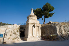 Tombe d'Absalom photo libre de droits
