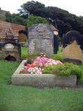 Tombe d'Anne Brontes photos stock