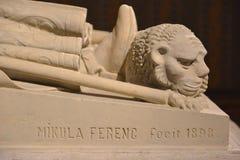 Tombe d'III du Roi Béla's - Budapest, Hongrie Image libre de droits