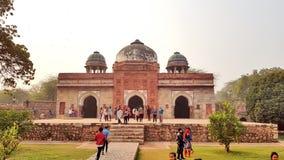 Tombe d'Isa Khan, Delhi, Inde photo libre de droits