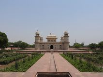 Tombe d'Itimad-ud-Daul, petit Taj Mahal, ?gr?, Inde image stock