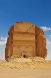 Tombe dans le landcape archéologique de désert de site Photo stock