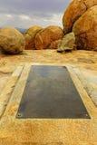 Tombe de Cecil J. Rhodes ' dans Matobo photos libres de droits