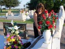 Tombe de Charlene Richard, Lil Cajun Saint Photos libres de droits