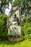 Tombe de compositeur Franz von Suppe à Vienne images stock