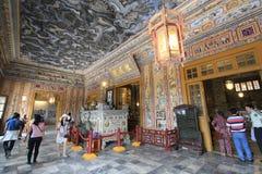 Tombe de dinh de khai de Lang au Vietnam photos stock