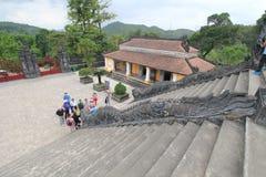 Tombe de dinh de khai de Lang au Vietnam images libres de droits