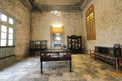 Tombe de dinh de khai de Lang en Hue, Vietnam photographie stock libre de droits
