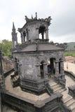 Tombe de dinh de khai de Lang en Hue, Vietnam image stock
