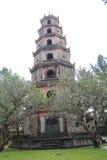 Tombe de dinh de khai de Lang en Hue, Vietnam images stock