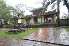 Tombe de dinh de khai de Lang en Hue, Vietnam photo libre de droits