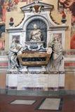 Tombe de Galileo Galilei - Santa Croce Florence Photographie stock libre de droits