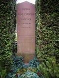 Tombe de H.C. Andersen photos stock