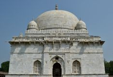 Tombe de Hoshang Shah dans la ville de Hisotric de Mandav Images libres de droits