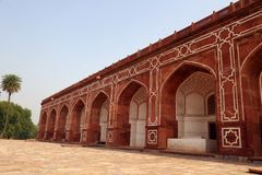 Tombe de Humayun à Delhi, Inde image stock